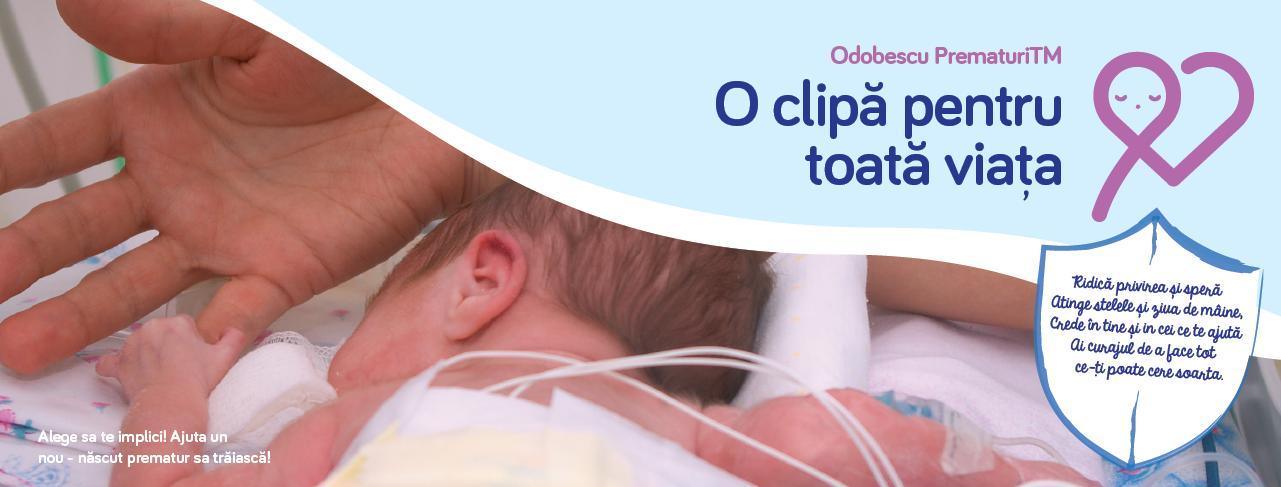 Campanie de strangere de fonduri pentru copiii nascuti prematuri